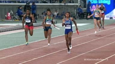 Equipe Brasileira feminina consegue vaga na final do 4x100m do Mundial de Revezamento - Equipe Brasileira feminina consegue vaga na final do 4x100m do Mundial de Revezamento