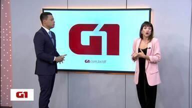 G1 no DF1: Secretaria de Cultura anuncia cancelamento do edital 'Áreas Culturais' de 2018 - Secretaria de Cultura anuncia cancelamento do edital 'Áreas Culturais' de 2018. Primeira morte após contaminação por H1N1 em 2019 é confirmada pela Secretaria de Saúde.