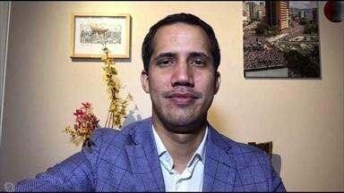 Crise na Venezuela: veja entrevista exclusiva com Juan Guaidó