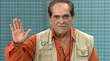 Brasil perde um dos maiores nomes do humor do país: o ator Lúcio Mauro - Lúcio Mauro morreu, no sábado, no Rio, aos 92 anos. Ator estava internado há quase quatro meses com problemas respiratórios. Lúcio Mauro será velado nesta segunda (13) no Theatro Municipal do Rio.