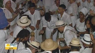 Procissão de pretos e pretas velhas pede respeito e alerta para combate ao racismo - Essa foi a primeira procissão, que percorreu ruas de Olinda
