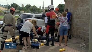 Domingo tem 3 feridos em acidentes e 1 motorista preso no trânsito de Campo Grande - Em Campo Grande, na área urbana, também foram registrados muitos acidentes nesse domingo (12). Um motorista acabou preso depois beber, dirigir e se envolver em uma batida.