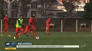 Clima melhora no Guarani após vitória na Série B do Brasileiro - Bugre venceu por 3 a 2 o Vitória, no Brinco de Ouro.