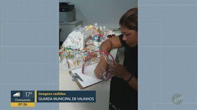 Enfermeira furta medicamentos do Hospital Ouro Verde em Campinas - A mãe da enfermeira fez a denúncia. A Guarda Municipal encontrou os remédios na casa dela.