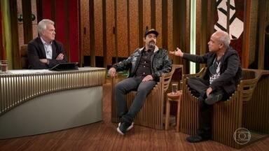 Claudio Manoel e Felipe Torres falam sobre receita do sucesso no humor - Humoristas fazem uma relação entre o Casseta & Planeta e Hermes & Renato