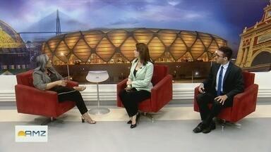 Diretora do Inpa fala sobre recursos descontingenciados - Antônia Franco, diretora do Inpa, comenta.