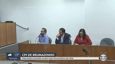 CPI de Brumadinho ouve funcionários da Vale na Assembleia de Minas - Barragem da mineradora se rompeu em 25 de janeiro. Duzentas e quarenta mortes já foram confirmadas e 30 pessoas seguem desaparecidas.