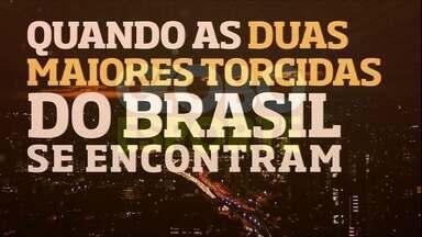 Globo Esporte: veja o clipe de abertura, que retrata o jogo entre Corinthians e Flamengo - Globo Esporte: veja o clipe de abertura, que retrata o jogo entre Corinthians e Flamengo
