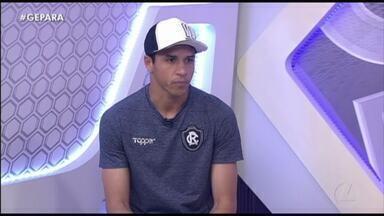 Vinícius comenta a boa fase dele e do Remo na temporada - Com grandes defesas, goleiro segue sendo o principal destaque do Leão em 2019