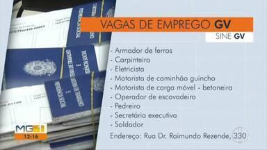 Novas vagas de emprego são oferecidas em cidades do Leste de Minas - Governador Valadares e Caratinga são algumas das cidades que oferecem vagas.