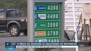 Motoristas questionam preço da gasolina em cidades de SC; especialistas analisam fatores - Motoristas questionam preço da gasolina em cidades de SC; especialistas analisam fatores