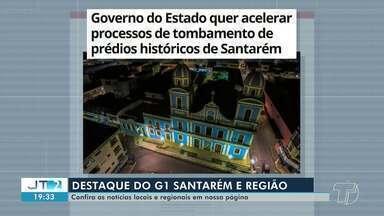 Processo de tombamento de prédios históricos em Santarém é destaque no G1 Santarém - Veja essa e outras notícias pelo celular, tablet e computador.