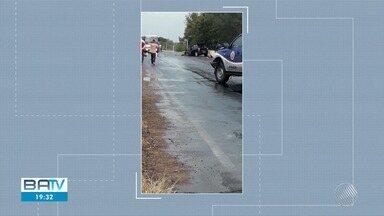 Acidentes causam mortes em estradas da região oeste - Casos ocorreram em Bom Jesus da Lapa e Santa Maria da Vitória.