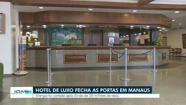 Em crise, hotel de luxo em Manaus tem energia cortada e funcionários dispensados - Localizado às margens do Rio Negro, resort cinco estrelas tem dívida com concessionária de energia.