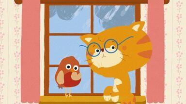 Bola - Entendiados com a chuva, Misho e Robin limpam o sótão a procura de um jogo. Robin sugere uma pausa na limpeza e tem uma ideia: fazer um quebra cabeça de tipos de bolas.