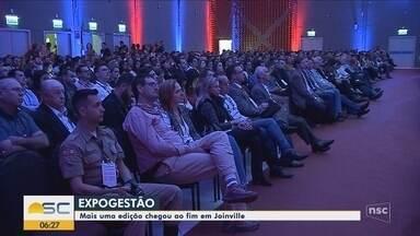 ExpoGestão termina em Joinville - ExpoGestão termina em Joinville