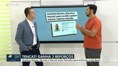 Vitória: Claudio Tencati ganha três reforços para jogo contra o São Bento - Veja os destaques do rubro-negro baiano.