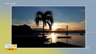 Confira a previsão do tempo desta sexta-feira (17); veja também as fotos do amanhecer - Saiba como fica o tempo no estado.