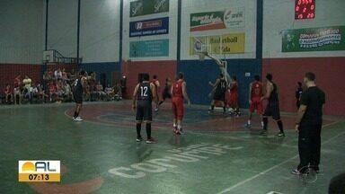 Competição de basquete será disputada em Maceió - Jogo serão realizados no Pavilhão, em Jaraguá