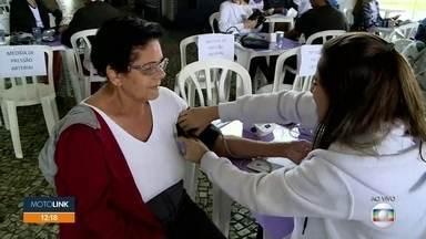População pode medir pressão no dia mundial da hipertensão - Tem ações no terminal Jabaquara de ônibus e na estação Santo Amaro do metrô.