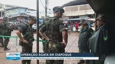 """Exército intensifica fiscalizações de combate a crimes na fronteira Brasil-Guiana Francesa - Operação """"Ágata"""" ocorreu em Oiapoque."""