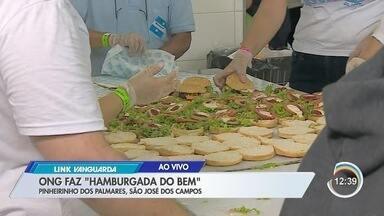 Tem 'hamburgada' do bem em São José - Projeto leva guloseimas a bairros carentes.