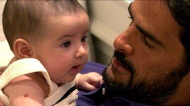 Thiago Camilo se adapta na nova vida de pai e piloto da Stock Car - Thiago Camilo se adapta na nova vida de pai e piloto da Stock Car