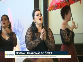 Cantoras interpretam personagens emblemáticas da história da ópera mundial - Espetáculo integra Festival Amazonas de Ópera.