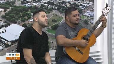 Fael Lima solta o som no Jornal de Roraima - 1ª Edição - Cantor fala sobre o início da carreira em Boa Vista, a paixão pela música e destaca o sucesso fora do estado.