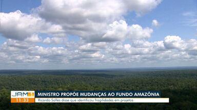 Ministro aponta inconsistências em projetos apoiados pelo Fundo Amazônia - Ele afirma que vai propor mudanças.