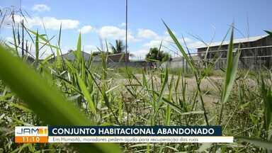 Moradores de conjunto habitacional relatam precariedade em infraestrutura - Problema é relatado no município de Humaitá no sul do estado