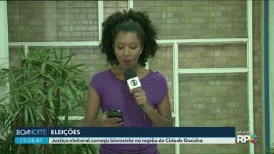 Justiça eleitoral começa biometria na região de Cidade Gaúcha - O cadastramento começa na próxima segunda-feira dia 20 de maio.