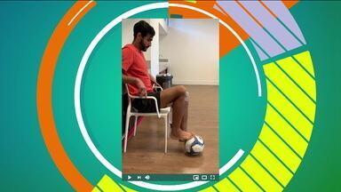 Em recuperação de lesão, Henrique Dourado recebe mensagem motivadora de Anderson Silva - Em recuperação de lesão, Henrique Dourado recebe mensagem motivadora de Anderson Silva