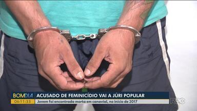Acusado de feminicídio vai a júri popular - Jovem foi encontrada morta em canavial, no início de 2017.