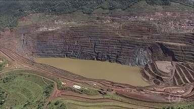 Parede de mina em Barão de Cocais (MG) está se movimentando mais rapidamente - A queda da parede da mina do Gongo Soco pode servir de gatilho para o rompimento de mais uma barragem da Vale em Minas Gerais. Moradores de Barão de Cocais vivem com medo.