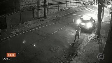 Suspeito de matar morador de rua em Santo André, SP, é identificado - Crime aconteceu no dia 11 de maio. Justiça decretou a prisão provisória de um empresário, um dos suspeitos pelo crime, que está foragido.