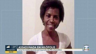 Moradora de Nilópolis é morta durante perseguição policial - Corpo será enterrado nesta quarta-feira (22).