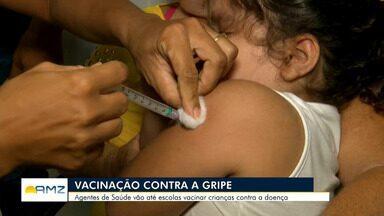 Em Roraima, Secretaria de Saúde intensifica ações de vacinação nas escolas - Campanha encerra na próxima semana.