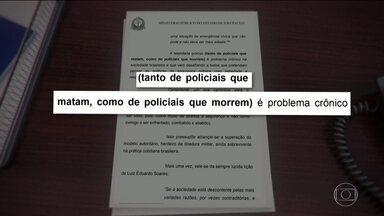 Letalidade policial é alvo de ação do Ministério Público - Promotoria pede medidas para garantir mais transparência em ações policiais. Caso da zona leste continua em investigação.