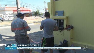 Operação combate furto de energia elétrica em Campinas - Balanço aponta 40 casos de fraudes, com 18 flagrantes e 19 pessoas conduzidas às delegacias da cidade.