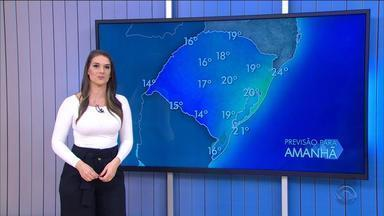 Previsão para quinta-feira (23) é de chuva na maior parte do dia - Assista ao vídeo.