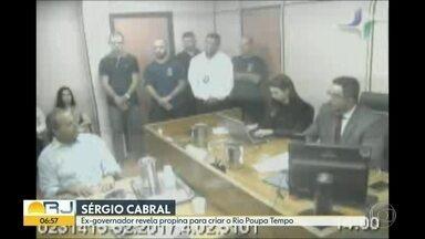 Sérgio Cabral revela esquema de propina para criar o Rio Poupa Tempo - undefined