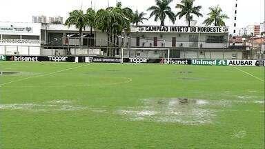 Chuva alaga gramado de Porangabuçu e Ceará treina apenas na academia - Confira as novidades do Vovô