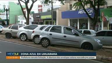 Prefeitura cancela licitação para Zona Azul de Umuarama - A abertura dos envelopes estava marcada pra ontem (24).
