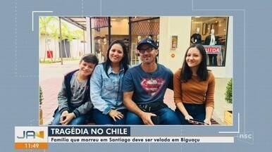 Confira as atualizações sobre a família brasileira morta no Chile - Confira as atualizações sobre a família brasileira morta no Chile