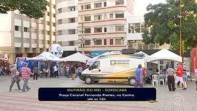 Mutirão do Microempreendedor individual termina nesta sexta-feira em Sorocaba - O Mutirão do microempreendedor individual termina nesta sexta-feira em Sorocaba (SP).