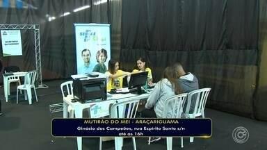 Mutirão do MEI é realizado nesta sexta-feira em Araçariguama - Mutirão do MEI é realizado nesta sexta-feira (24) no Jardim Brasil, em Araçariguama (SP).