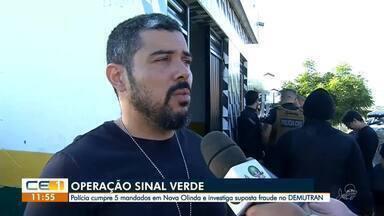 Secretário e diretor de órgão de trânsito de Nova Olinda são presos - Confira mais notícias em g1.globo.com/ce
