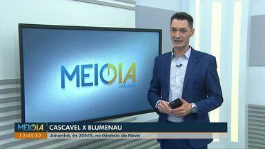 Cascavel enfrenta o Blumenau pela Liga Nacional - Partida é no sábado (25), no ginásio da Neva.