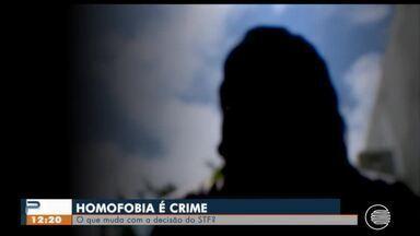 STF criminaliza homofobia - STF criminaliza homofobia